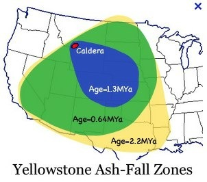 Ashfall ashfall 1 by mike mullin pic 1 ashfall zones from known eruptions of the yellowstone supervolcano ccuart Gallery