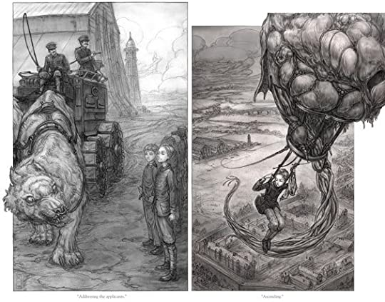 Leviathan (Leviathan, #1) by Scott Westerfeld
