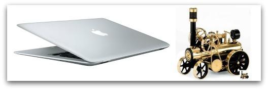 Mac versus Steam engine