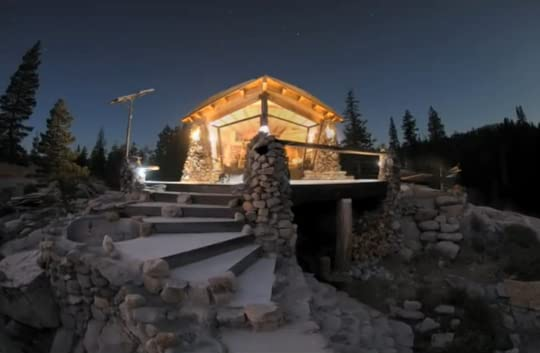 Mike Basich tiny home in Utah