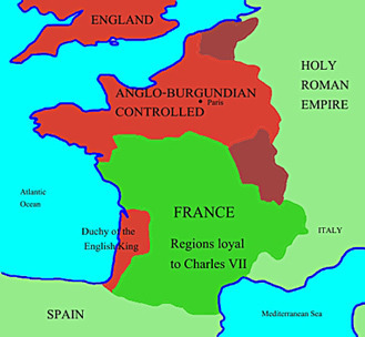 England's French Territories