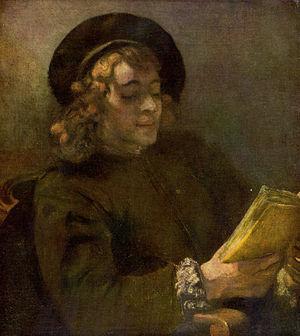 Portrait of Titus van Rijn