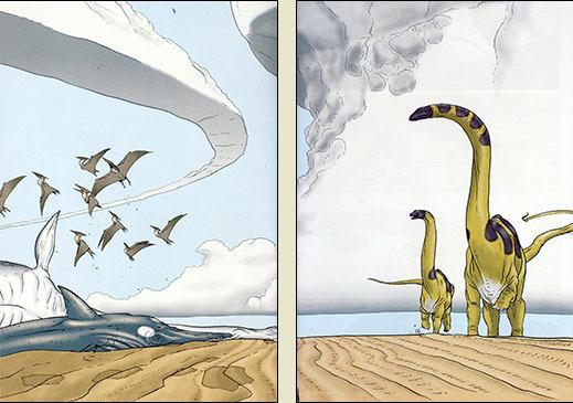 Age of Reptiles by Ricardo Delgado, James Sinclair, and Jim Campbell