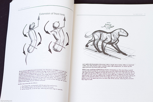 Force Character Design From Life Drawing By Mike Mattesi : Force animal drawing locomotion and design