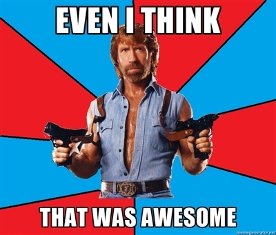 chuck norris awesome