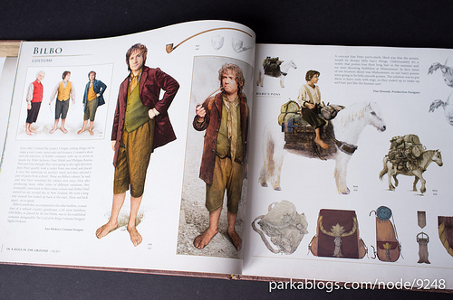 Hobbit Art Book