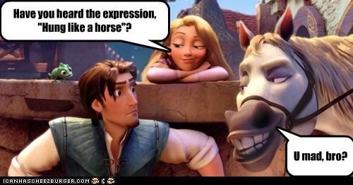 hung like a horse