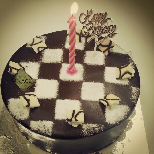 Glace birthday cake 2013