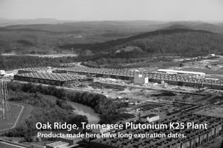 oak ridge tennessee photo: Oak Ridge Tennessee Plutonium Plant k25aerial.jpg