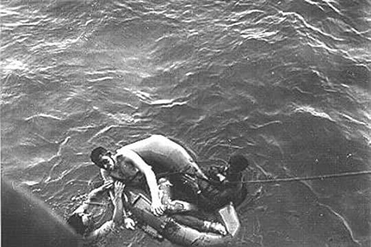 Image result for New details: Sharks, secrets and the sinking of the USS Indianapolis