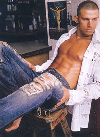 relaxed in jeans