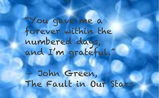 In john our fault stars green