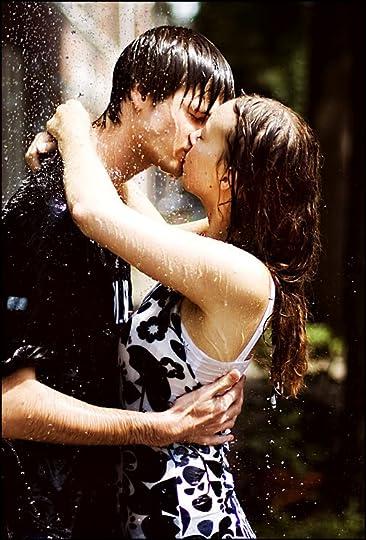 Couple Kissing in Rain photo: kiss Kissing_in_fake_rain_by_The_Rob.jpg