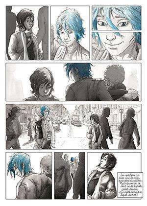 the comic has more tragedy and melodrama than the film but its still very moving a beautiful portrait of first love in all its excitement and - Blue Is The Warmest Color Book