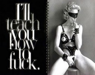 I'll teach you how to fuck.