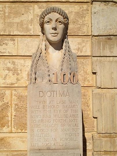plato symposium diotima Pondus meum amor meus eo feror quocumque feror plato™s symposium is of diotima in which he himself serves as the interlocutor.