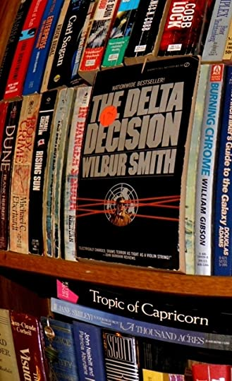 pic of my copy of THE DELTA DECISION