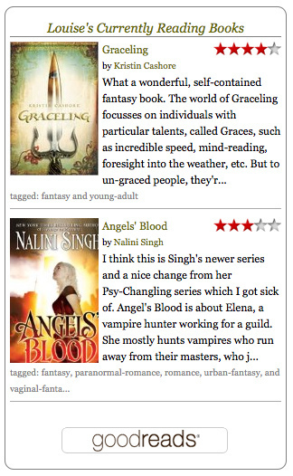 A Custom Widget on Goodreads