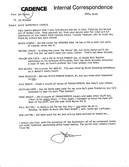 Jim Shooter's Blog, page 12
