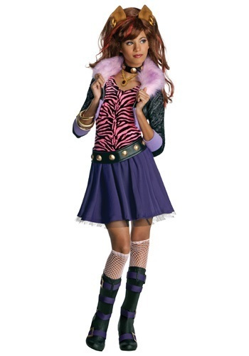 Over my undead body would my kid be wearing this Clawdeen Wolf Monster High costume available at Toysu0027Ru0027Us in sizes  recommended  for 4-6 ...  sc 1 st  Goodreads : wolf bait costume  - Germanpascual.Com