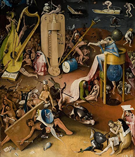 the Inferno is Hieronymus Bosch with words
