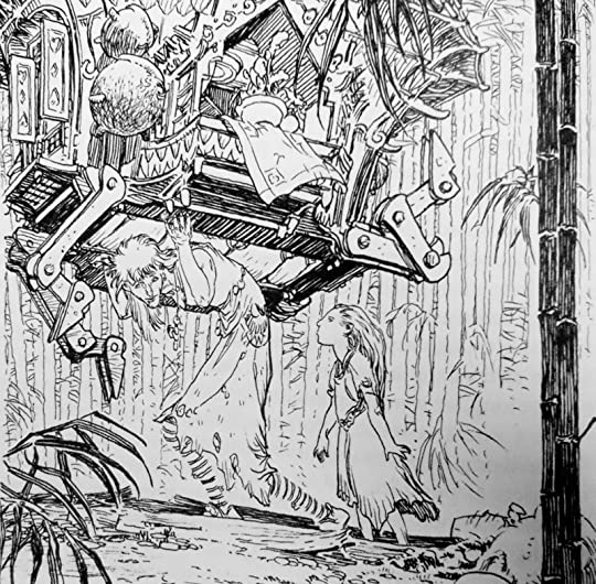 Michael Kaluta Illustration