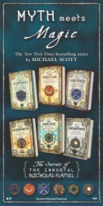 The Secrets of the Immortal Nicholas Flamel series covers