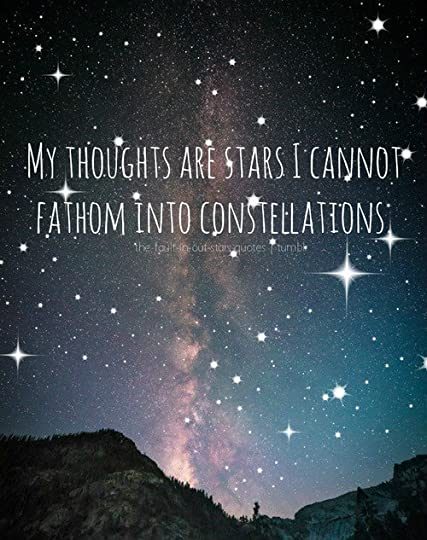My Thoughts Are Stars I Cannot Fathom Into Quotesberry Tumblr