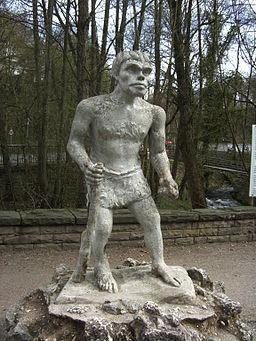 Neandertala homo, historia modelo
