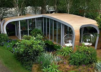 Sabrina sinclair 39 s blog outdoor living designs garden for Garden shed floor ideas