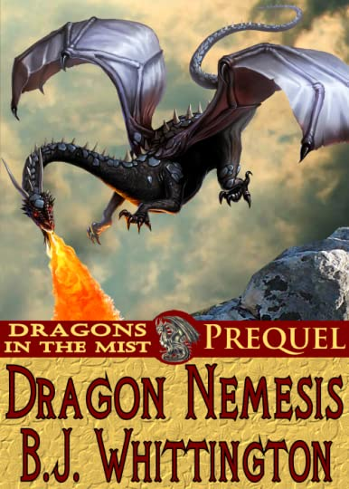 Dragons in the Mist Prequel Cover