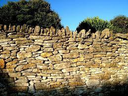 Stacked Stone Fence