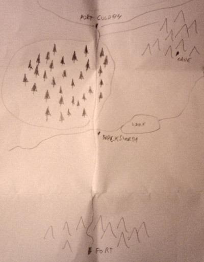 ancient sketch of Aielund