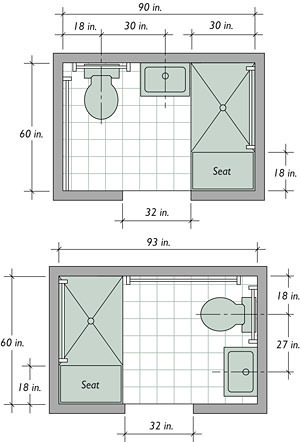 sara pierce's blog - bathroom floor plans - april 05, 2013 19:29