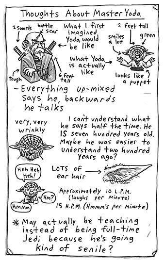 Thoughts about Master Yoda: a page from Roan's journal