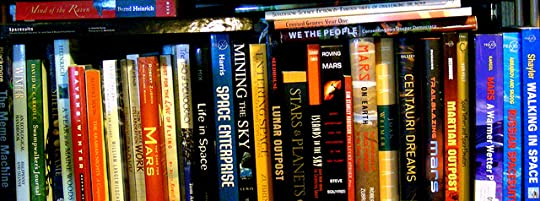 Spacegeek bookshelf