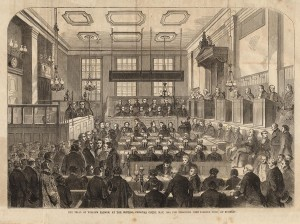 Trial of William Palmer/Courtesy: National Library of Medicine