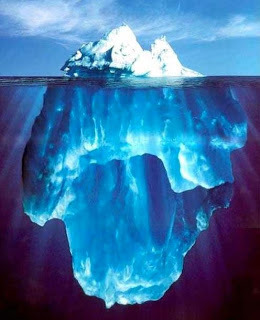 maria mckenzie s blog ernest hemingway s iceberg theory  furthermore baker explains that in the writing style of the iceberg theory the hard facts float above water while the supporting structure complete