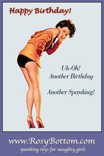 Why do we spank for birthdays