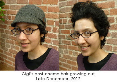 Gigi Pandian S Blog Post Chemo Hair Cute Hats To The Rescue January 07 2013 08 00