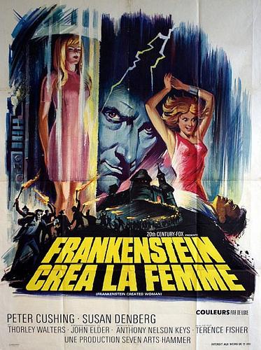 Frankenstein Created Woman Poster Paul van Yperen's Blog...