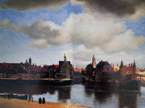 Vermeer View of Delft