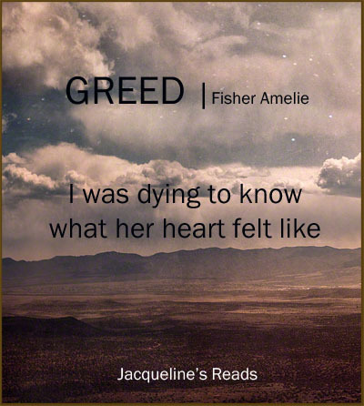 Greed The Seven Deadly 2 By Fisher Amelie