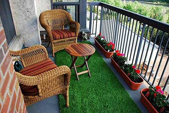 Fake Lawn For The Balcony.