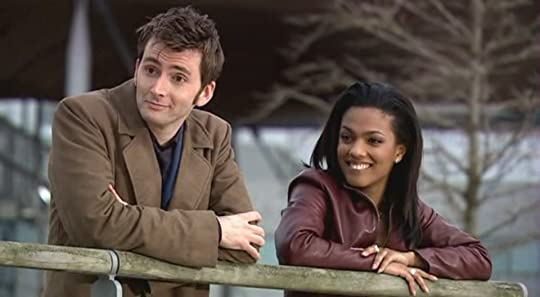 Tenth Doctor and Martha Jones