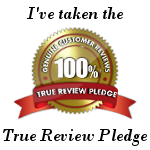 True Review Pledge Badge