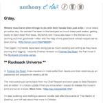 September Newsletter: Travel Fiction Novel, Espresso Stout, Google+ and More