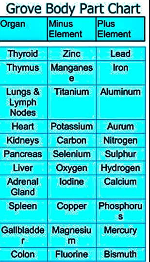 Sari Grove's Blog: Grove Body Part Chart:A Medical Arts Innovation