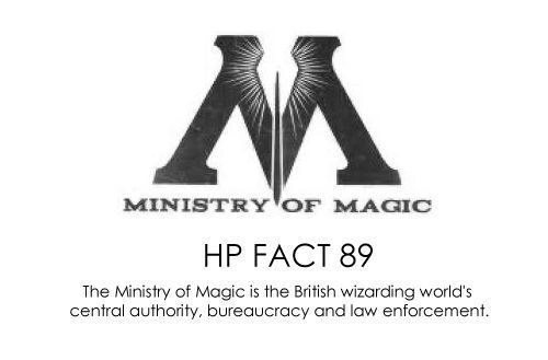 HP facts - Ministry of magic.