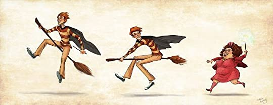 Fred, George & Umbridge by Melissa Manwill